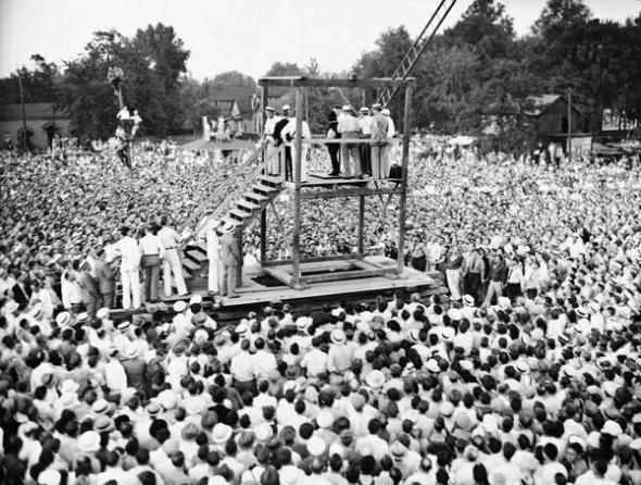 Last public execution in USA, 1936