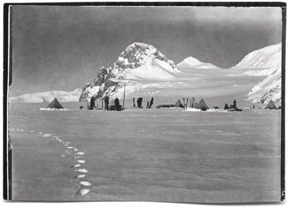Lower Glacier Depot, Beardmore Glacier, 11 Dec 1911