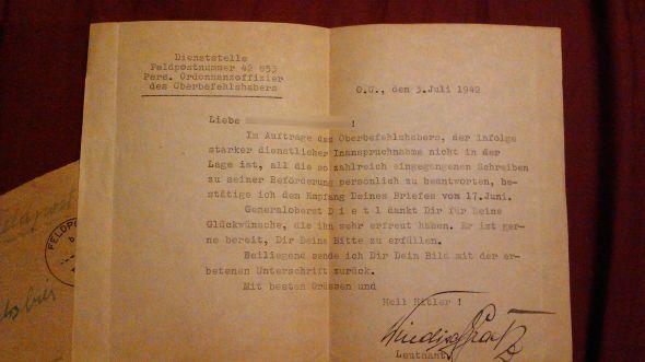 Dietl's Letter