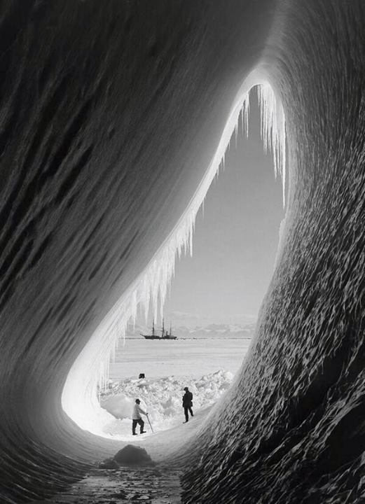 Scott's Antarctic expedition from the 1910s