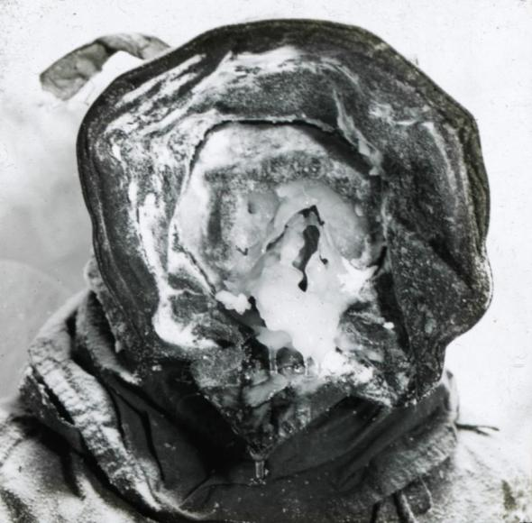 Portrait of Australian Antarctica pioneer Cecil Madigan, taken during the first Australian Antarctica expedition between 1911-1914