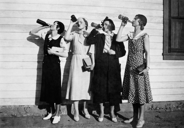 80 years ago, the prohibition of alcohol has ended. [1919-1933]