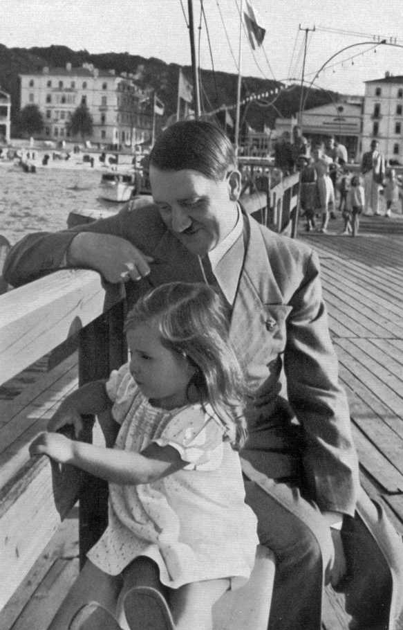 """You're so cute I could just Goebbel you up!"" -Adolf Hitler"