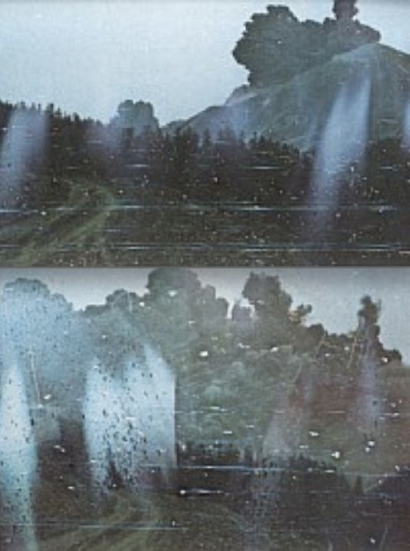 The Mount St. Helens eruption - Photos taken by Robert Landsburg before he was incinerated by the ash cloud.