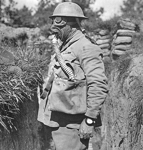 First World War box respirator