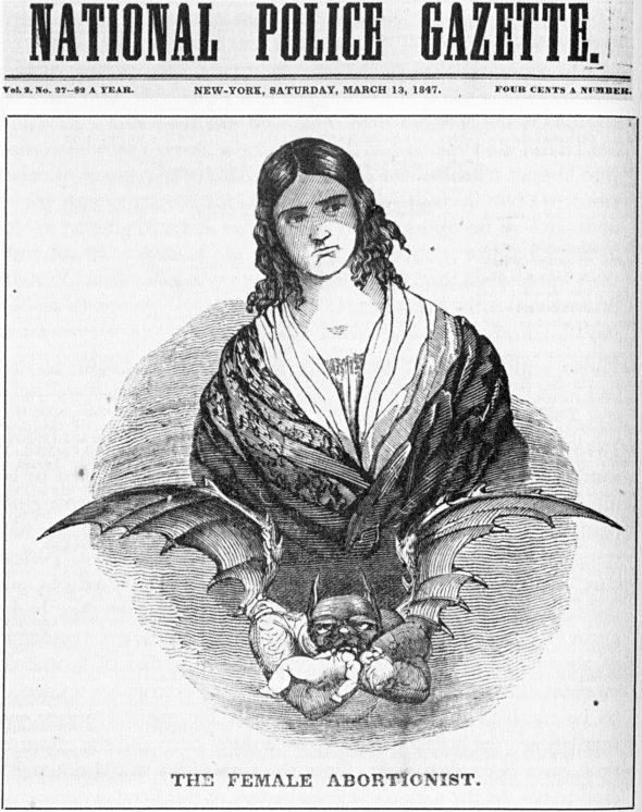 female abortionist