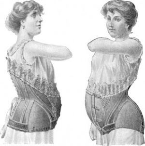 Images of pregnancy maternity fashion - 19th century maternity style - maternity-corset