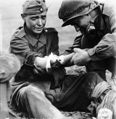 an evaluation of the french and german soldiers in word war ii Research on how war and violence are related to sexuality  a us soldier in france in world war ii wrote to  ambrose mentions that german soldiers in the.