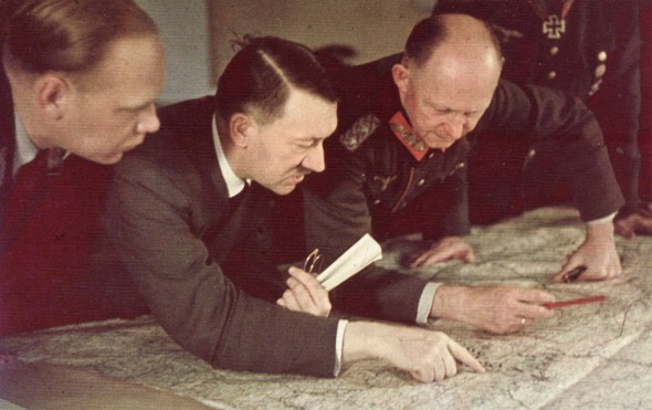 Hitler_planning_his_strategy