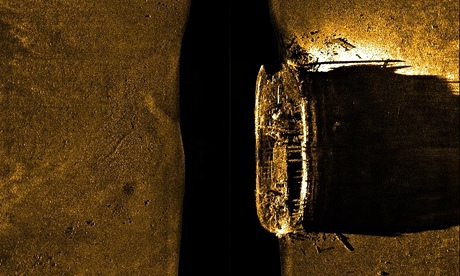 British ship found