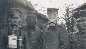 Image result for ww1 german soldier in gas mask