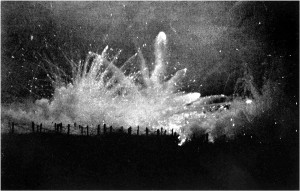German_Barrage_Fire_at_Night_(Ypres)