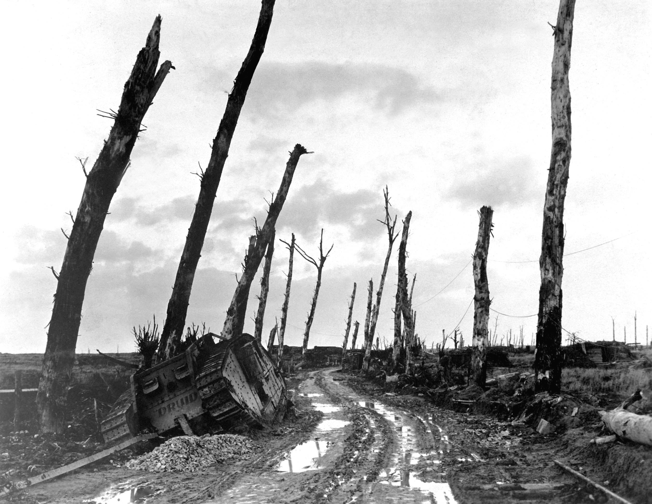 Image result for pictures of desolation after the war