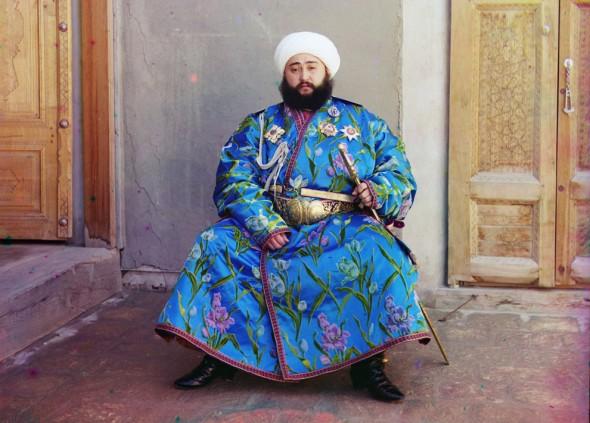 Emir Seyyid Mir Mohammed Alim Khan, the Emir of Bukhara