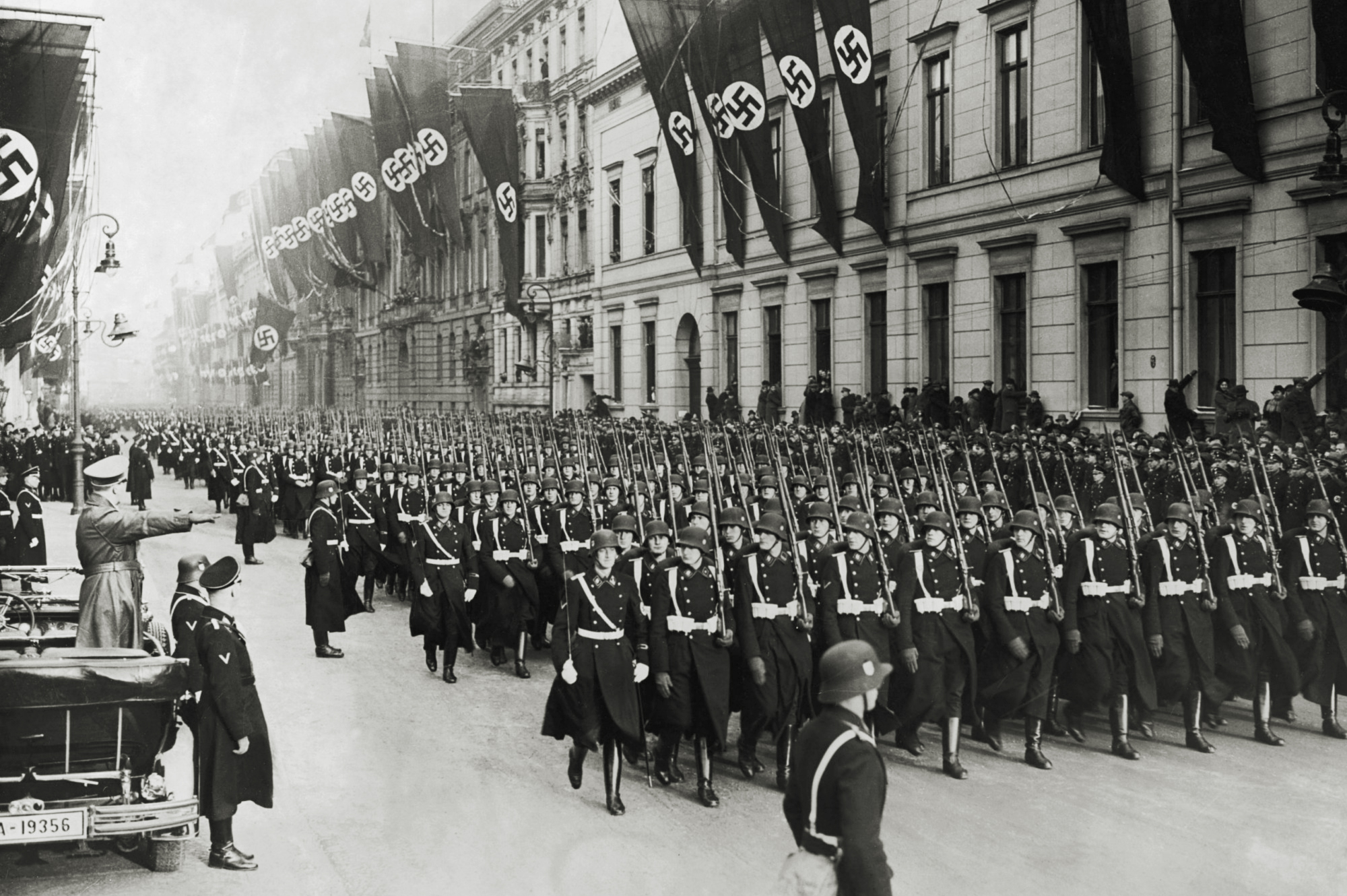 the causes of the rise of the nazi party of adolf hitler in germany after world war one The enormous costs of the war cause rampant inflation the nazi party under the leadership of adolf hitler gains more votes in every election on january 30, 1933, adolf hitler is named reich chancellor in february, his democratically elected government passes a law suspending civil rights.