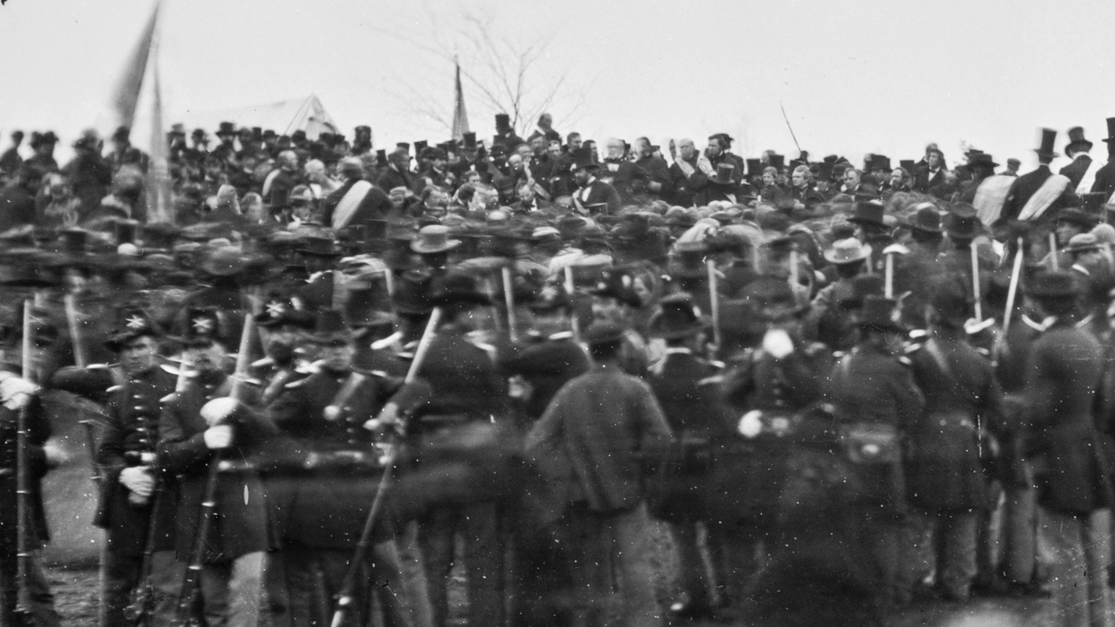 a history of the battle of gettysburg Surround sound and sweeping imagery tell the story of the battle of gettysburg  within the context and causes of the american civil war in the film, a new birth of .