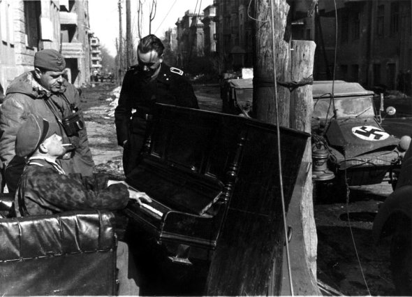 In the event of trouble, Europeans all immediately move their pianos onto the street, or so I have come to believe from WW2 photos.