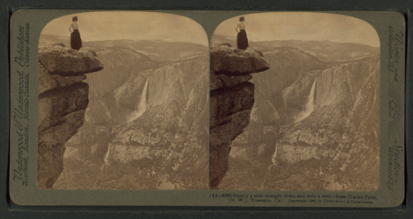 800px-Nearly_a_mile_straight_down,_and_only_a_step,_Glacier_Point_(N.W.),_Yosemite,_Cal,_by_Underwood_&_Underwood